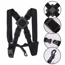 Professional Adjustable Harness Shoulder Black Sax Saxophone Belt Neck Strap for Alto / Tenor / Soprano Saxophone Accessories(China)
