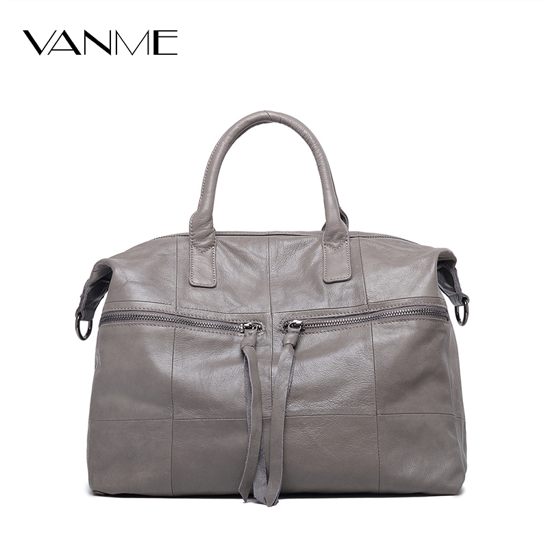 Women 100% Genuine Leather Handbags Soft Natural Skin Daily Bag High-capacity Top Grade women Shoulder bags High Quality Handbag