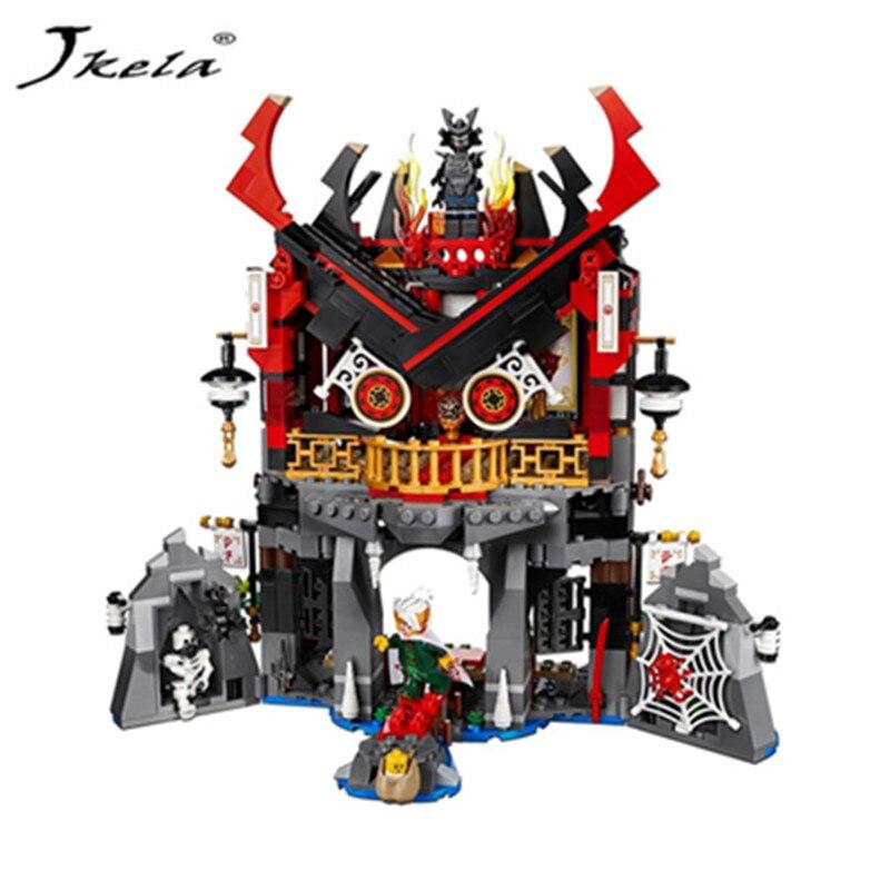 [Jkela] Tempel van Opstanding Bouwstenen Ninja Collectio Legoings Ninjagoing Temple Bloc ...