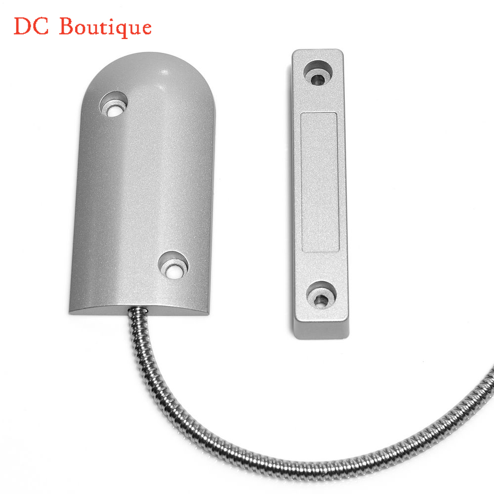 (1pair) High quality Max 90mm Work distance Wired Rolling Door Alarm Magnetic Switch Window metal Door Open Control Door sensor high quality wall mounted pir motion sensor light switch max 600w load 9m max distance 1pc gs45