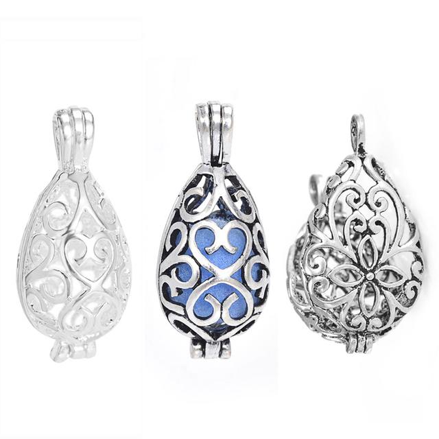Locket Diffuser Pendants for Aromatherapy