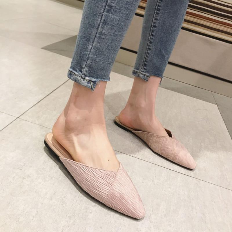 YUANMING Women Slippers Layies Slides Women Sandals Summer Female Shoes Women Flats Fashion Comfortable for Women Shoes