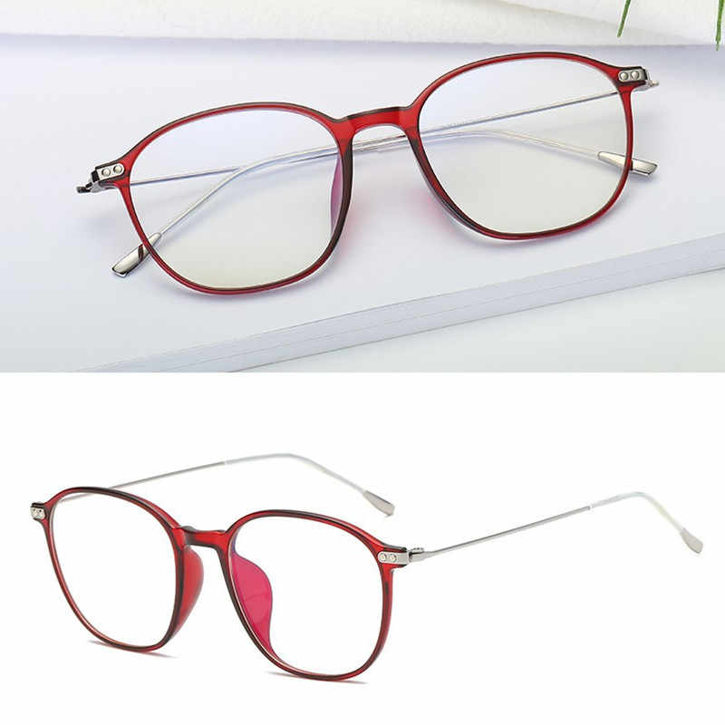 6b09451f5 TR90 Metal Alloy Glasses Frame Men Myopia Eye Glass Prescription Eyeglasses  2019 Transparent Screwless Optical Frames