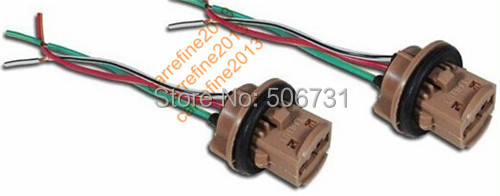 compare prices on toyota turn signal online shopping buy low 50 pcs 7443 bulb socket brake turn signal light harness wire led pig tail plug 992