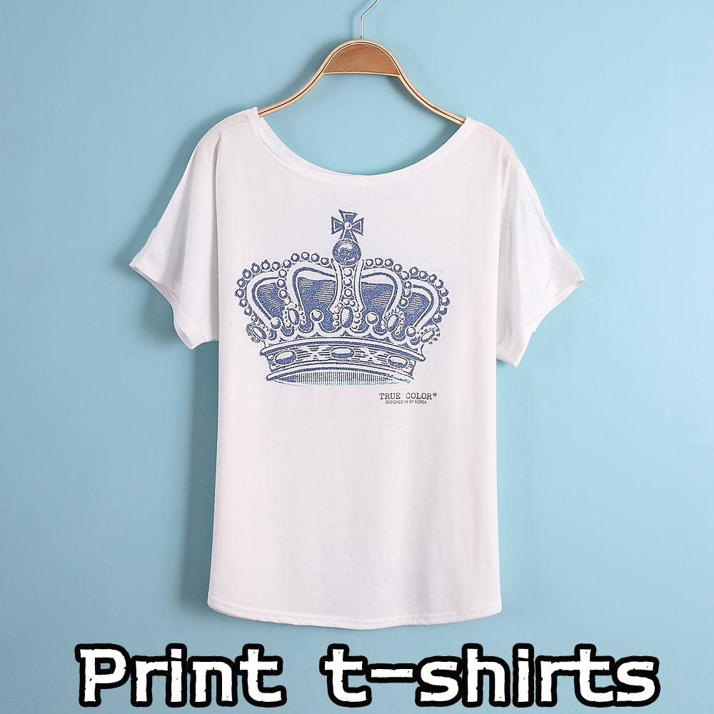 New printing t shirts short sleeves women 39 s t shirt print for Print a photo on at shirt