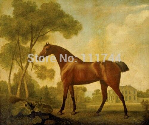 Картина маслом животных Wall Art балерина залива Mare принадлежащих граф Кларендон Джордж Стаббс высокое качество ручная роспись