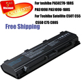 laptop battery for toshiba PA5027U-1BRS PA5109U PA5109U-1BRS Notebook battery For Toshiba Satellite C50T C55 C55D C75 C805