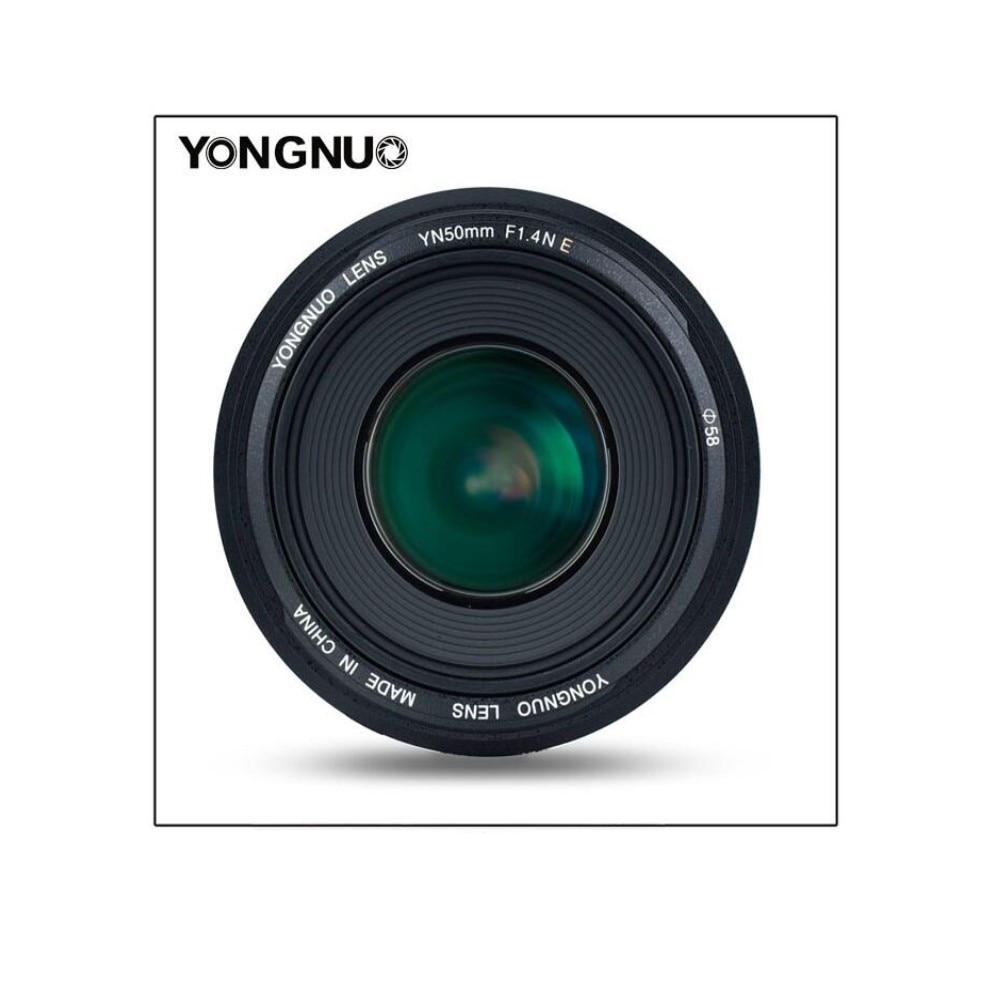 YONGNUO YN50MM F1.4N E Standard lentille principale AF/MF pour Nikon D7500 Nikon D7500 D7200 D7100 D7000 D5600 D5500 D5300 d5200 pour Canon