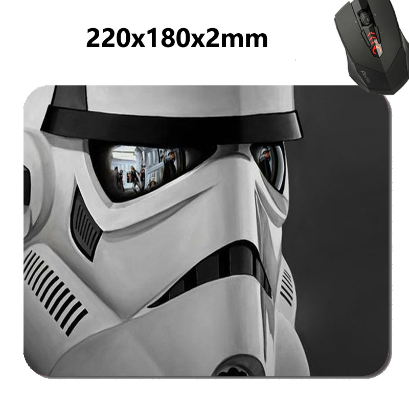 Star Wars Funny & Cute Rectangle Mouse Pad   Fashion Cushion Antiskid Rubber Mat Cool Slim Cushion Your Desk Durable Mouse Pad