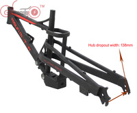 Our Exclusive Customized Mustang Mountain eBike Frame With Suspension|Bicycle Frame| |  -