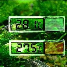 Многофункциональный ЖК-дисплей 3D цифровой электронный измерение температуры аквариум темп метр Аквариум термометр E2shopping