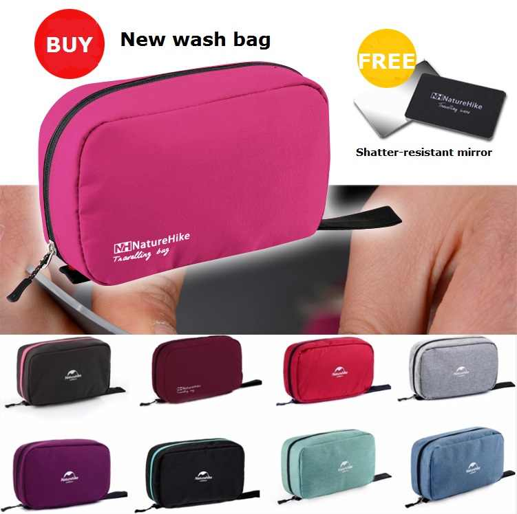 NatureHike Factory Store travel wash bag outdoor portable Folding travel  unisex storage bag waterproof cosmetic bag dba8eb7c8e536