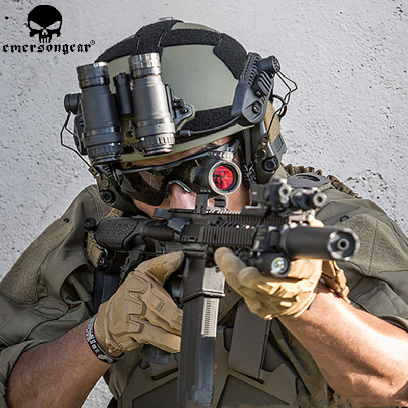 EMERSONGEAR MK Style casque tactique randonnée Cycliny casque de protection coussinets emerson Combat Airsoft casque accessoires de chasse