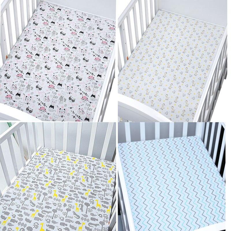 Spiekbriefjes Past Voor Baby 'S En Peuters In Beddengoed Set Muslinlife Katoen Wieg Matras Protector Baby Laken Voor Crib size