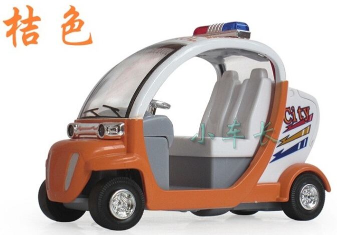 environmental protection patrol car brinquedos toys for kids alloy kids toys for childrens toy car model