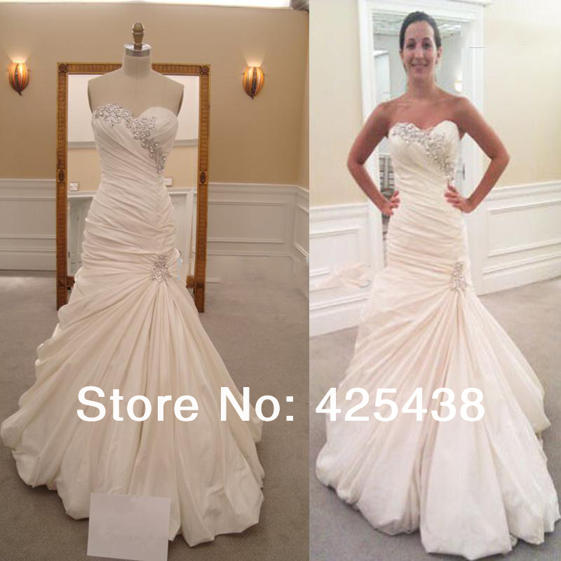 Pnina Tornai Sweetheart Mermaid Wedding Dress - Short Hair Fashions