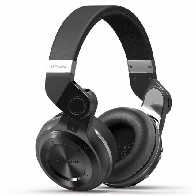 Bluedio T2+ Powerful Bass Stereo Bluetooth 5.0 Headphone Wireless Headset Support FM Radio Micro SD Card Play With Microphone