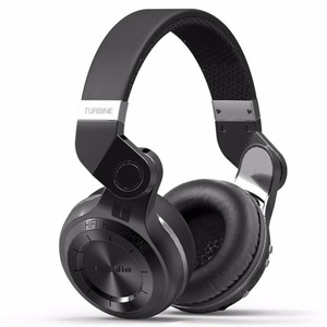 Bluedio T2+ Powerful Bass Stereo Bluetooth 5.0 Headphone Wireless Headset Support FM Radio Micro-SD Card Play With Microphone(China)