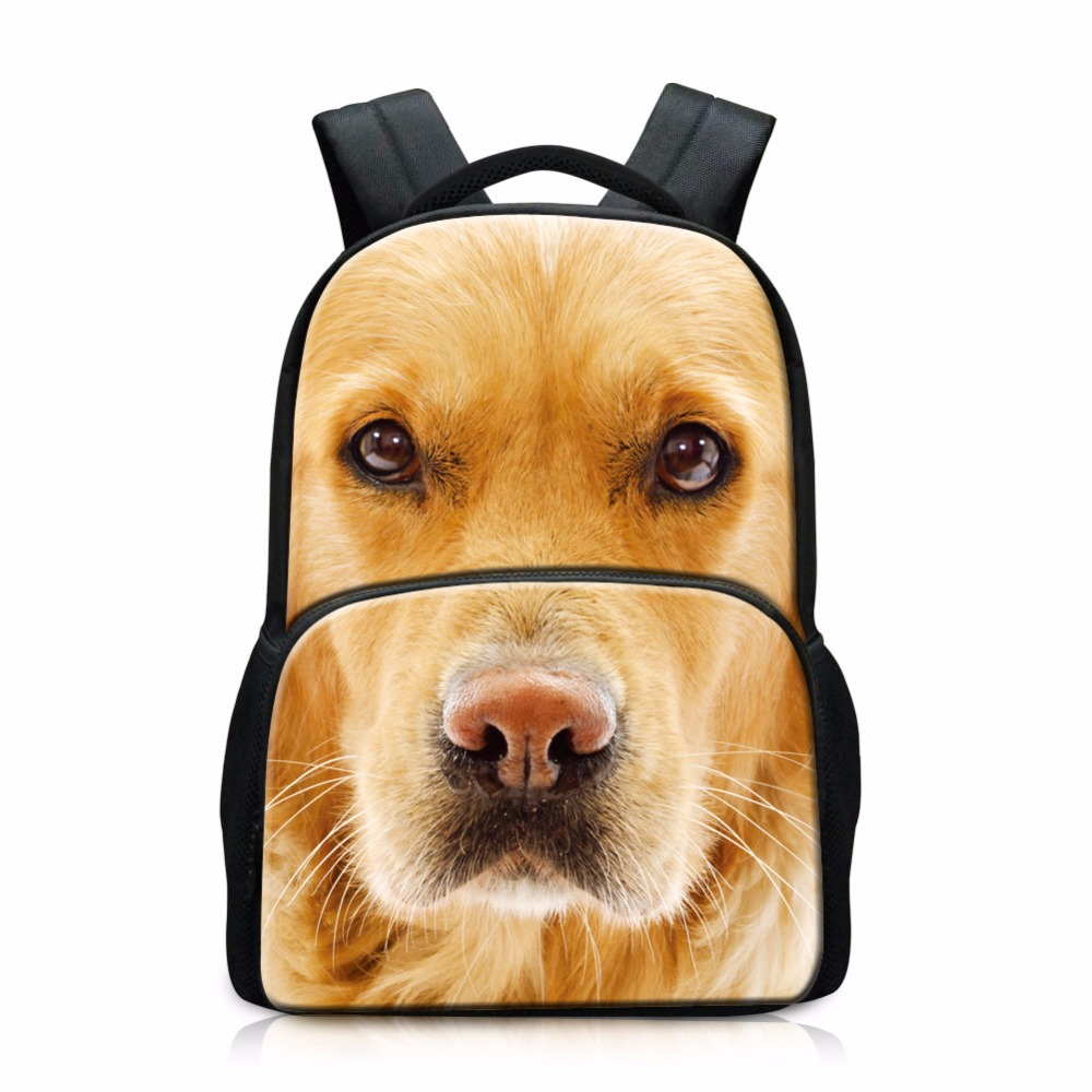 Sacs à dos de tigre pour les étudiants du collège Animal chien chat Patten sacs d'école pour les adolescents mode Outdor sac à dos pour sac de voyage