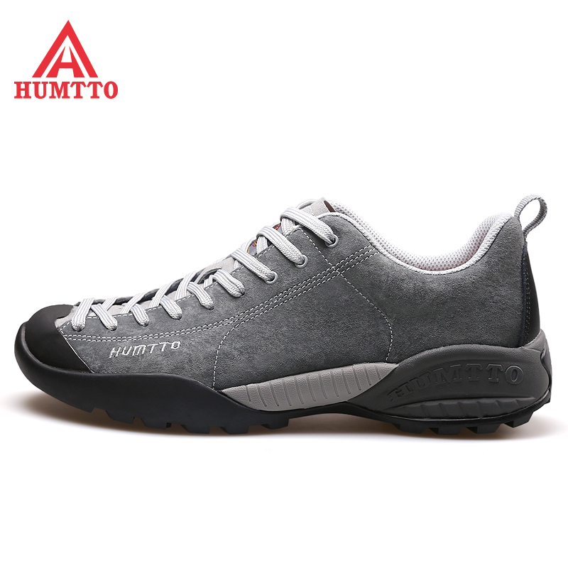2019 HUMTTO Men s Leather Hiking Trekking Shoes Sneakers For Men Sport Camping Toursim Travel Climbing