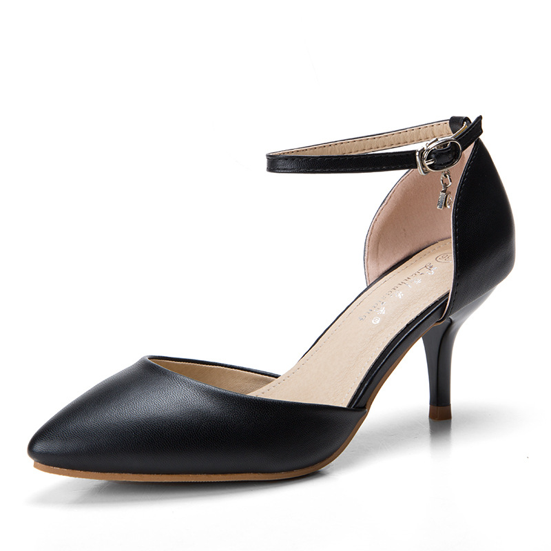 ФОТО Women Sandals Pointed Toe Chaussure Femme Talon Ladies Pumps Shoes Woman Summer Style