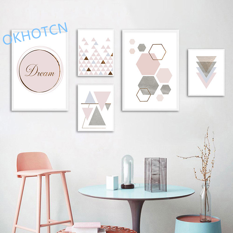 Pink-Geometry-Wall-Art-Canvas-Nordic-Style-Posters-and-Prints-Abstract-Painting-Wall-Pictures-for-Living