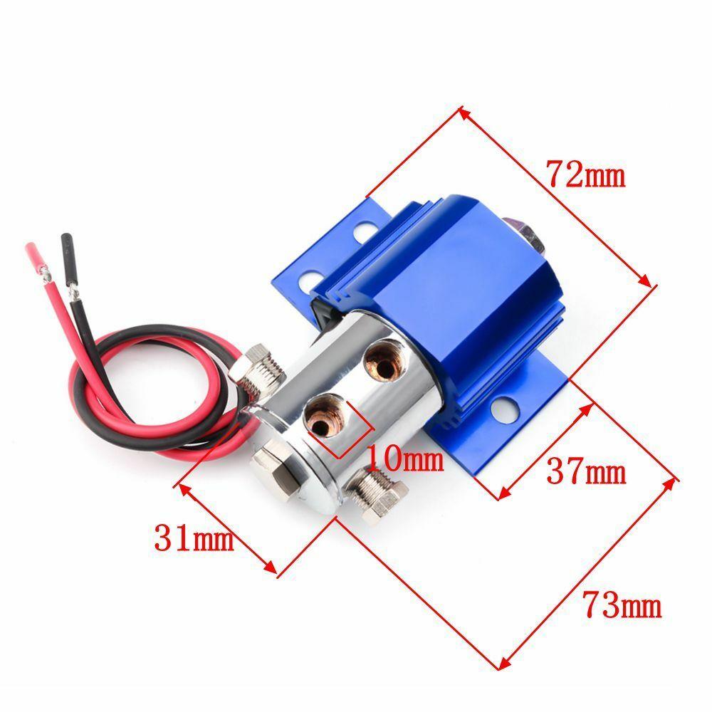 1 Pc serrure de ligne avant Type de serrure de frein robuste support de contrôle de rouleau + Kit de commutateur bleu assurer la fiabilité