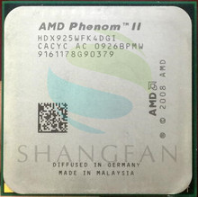 AMD Phenom X4 925 2,8 ГГц Quad-Core Процессор процессор HDX925WFK42GI HDX925WFK42GM 95 Вт Разъем AM3 938pin