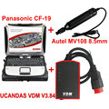 V3.9 Herramienta VDM UCANDAS WIFI Completo Sistema de Diagnóstico + MV108 8.5mm Digital Inspección Videoscope Autel Maxivideo + Toughbook CF-19