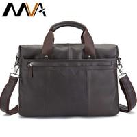 МVA сумка мужская натуральная кожа сумка через плечо мужская сумка мужская Мужской портфель сумка кожанная для ноутбука 14 портфель мужской ...