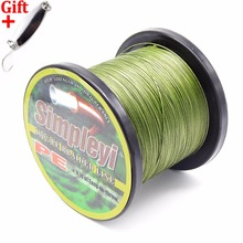 Simpleyi Lure As Gift 500m 8 Stands Multifilament Pe Braided X8 Fishing Line Tackle 10lb To 100lb 120lb 150lb 200lb 250lb 300lb