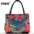 Chinese National Style Hmong Vintage Ethnic Embroidered Boho Indian Embroidery Famous Brand Logo Bag And Handbag Sac a Dos Femme