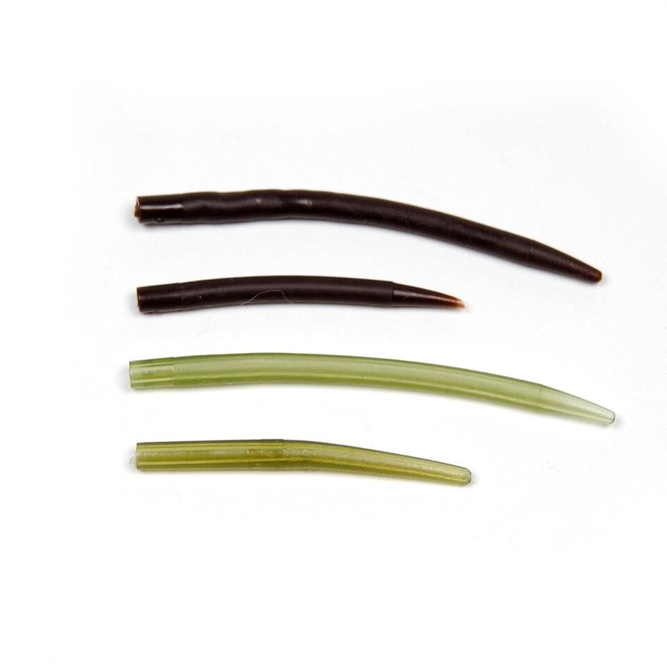 [20 шт./упак.] мягкие резиновые конический рукавом для Карп Рыбалка вышке делать терминал снасти зеленый коричневый Цвет [lypj-006]