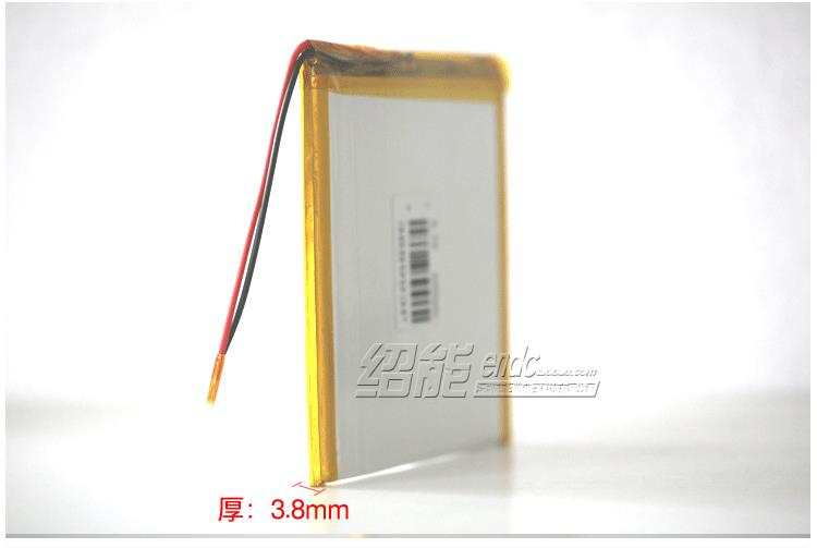 3.7V explosion proof polymer lithium battery 388993 4000mAh luminous medical equipment blood glucose analyzer Li-ion Cell