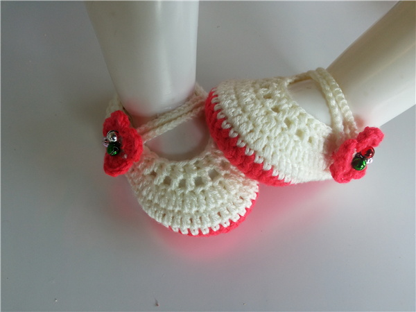 Aliexpresscom Buy Fashion Baby Crochet Shoes Baby Girls Booties