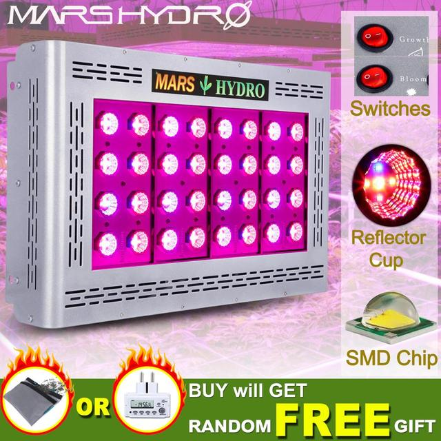 Mars Pro II Epistar 800W LED Grow Light Full Spectrum Best for Hydro Plant Veg Flower Indoor Grow Tent Plants Hydroponics