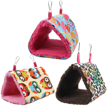 Fashion Plush Bird Hanging Cave Cage 1