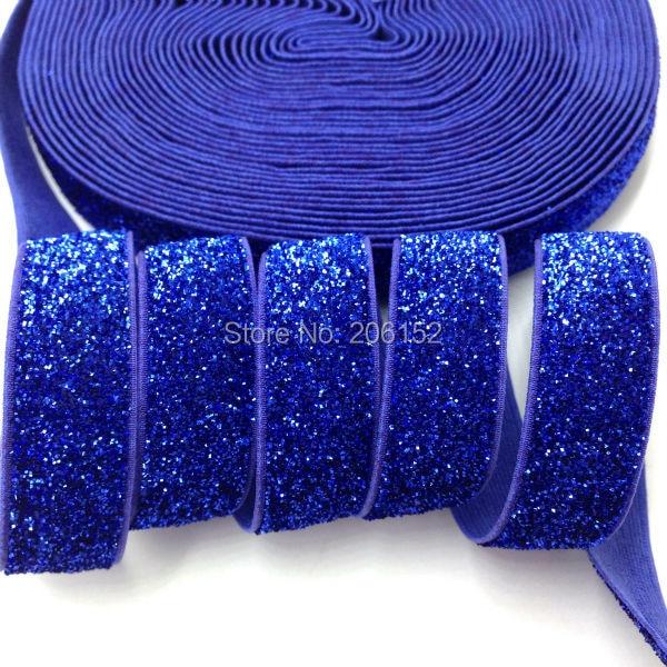 """4 Yards Any Color Elastic Fold Over  5//8/"""" burgundy,royal blue,lavender,dark red"""