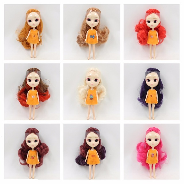 Icy Nude Mini Pullip Doll No3 Many Kinds Of Hair Colorsclothes