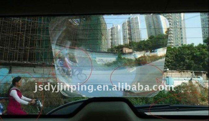 Широкоугольный объектив заднего стекла, используемый на автомобиле