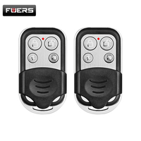 Free Shipping 2pcs Wireless Metallic Metal Remote Control Setting Arm Disarm For Kerui G19 G18 GSM