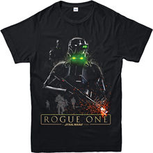 Star Wars T-Shirt, Rogue One Darthtrooper Poster Inspired Top (SWRDP) Free shipping  Harajuku Tops Classic Unique