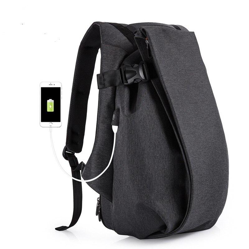 TC701  fashion trend Shoulder bag Men backpack Schoolbag male College Student sports leisure Computer Travel bag