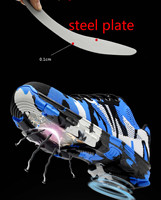 Smash and piercing safety protective shoes men shoes 4