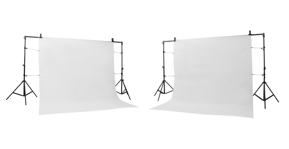 GSKAIWEN Backdrops Frame Background Support System Photography Studio Background Holder Camera Photo Accessories with Carry Bag 1