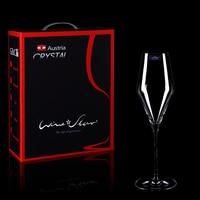1pcs Lead free Crystal champagne glass European High handmade goblet Wine glass Single gift box household wedding wine cup