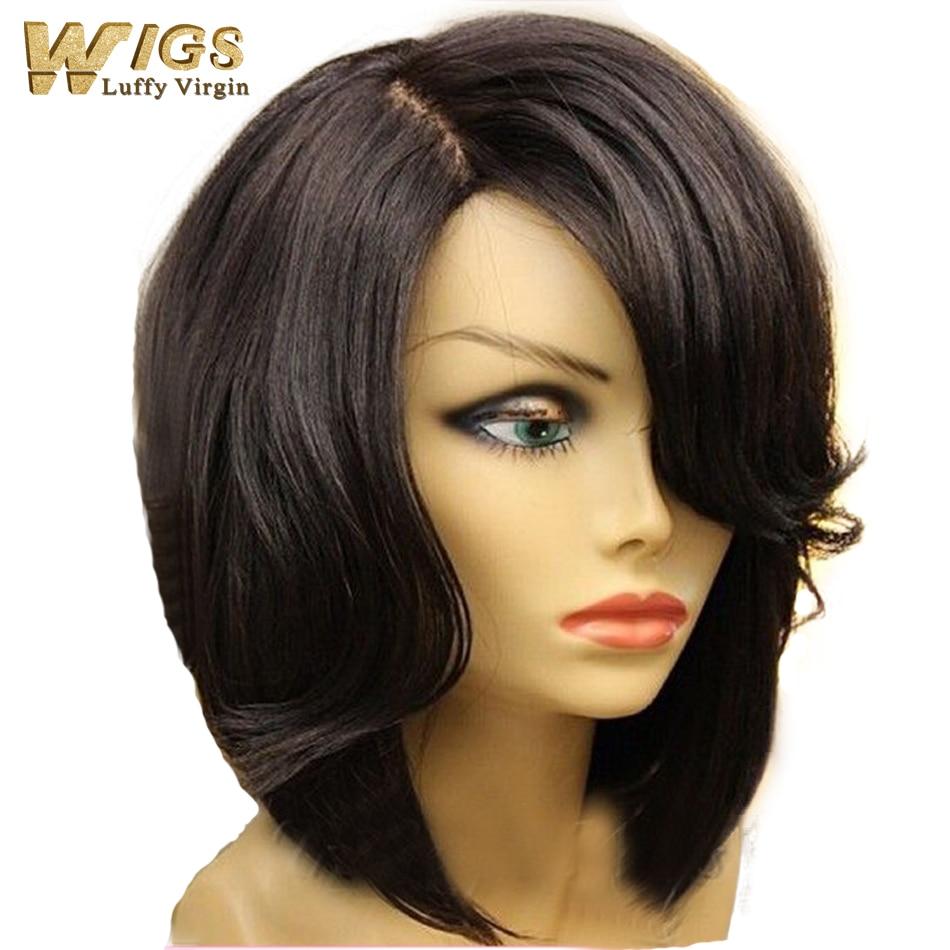 New Bob Cut Style Human Hair Bob Lace Front Wig 130