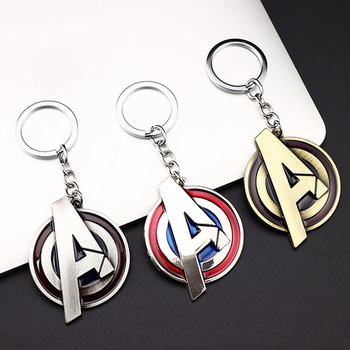 Avengers 4 Endgame Letters A Logo breloczek do kluczy zabawki dla dorosłych 2020 nowe litery Avengers zabawki brelok zaopatrzenie imprezy tanie i dobre opinie FORBOB Puppets Wyroby gotowe Unisex 7 2*2 2cm 1 60 Remastered version 2-4 lat Urządzeń peryferyjnych the avengers 4 endgame Letters Logo Car Key Ring Toys