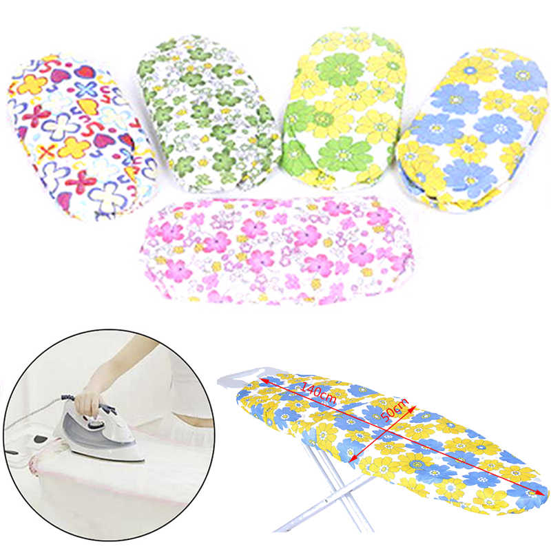 140*50cm Ultra Thick Heat Retaining Felt Ironing Iron Board Cover Easy Fitted ( iron board is NOT included) Random Color