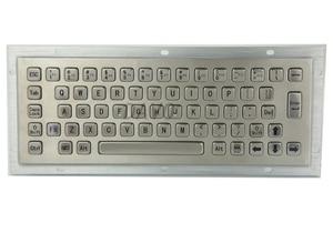 Kiosk Metal Keypad Stainless steel vandal - proof panel mount Industrial Mini Keyboard metallic keyboard key caps(China)